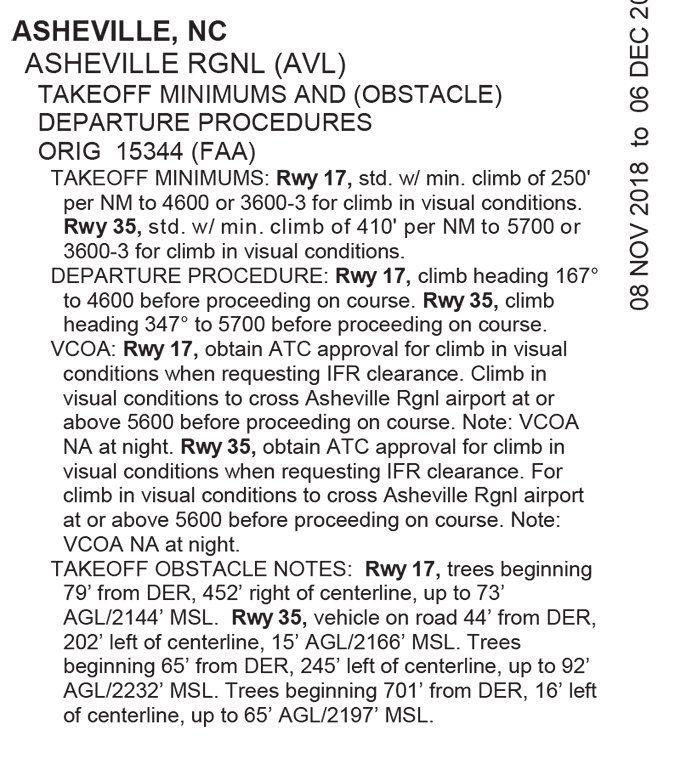 asheville nc flight departure